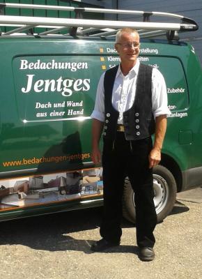Dachdeckermeister Bernhard Jentges