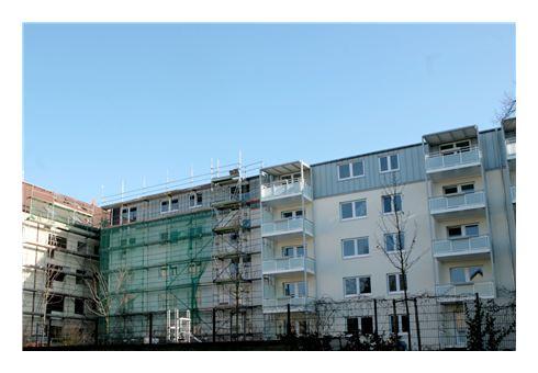 Moderne Wohnhaussanierung